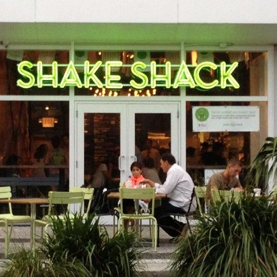 Shake Shack Menu Miami Beach