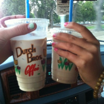 Photo taken at Dutch Bros. Coffee by Catherine on 8/6/2012