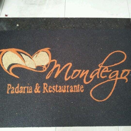Photo taken at Mondego Padaria & Restaurante by Fernando M. on 4/13/2012