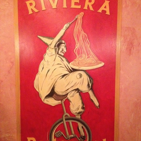 Photo taken at Riviera Ristorante by Reed M. on 4/22/2012