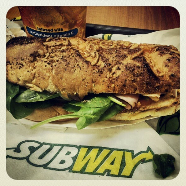 Photo taken at SUBWAY by Elio N. on 7/24/2012