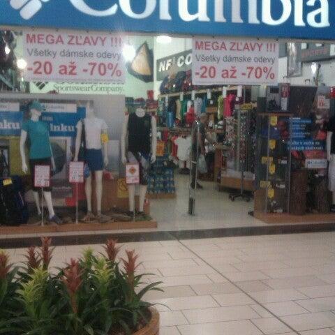 Photo taken at Atrium Optima by Hali H. on 6/9/2012