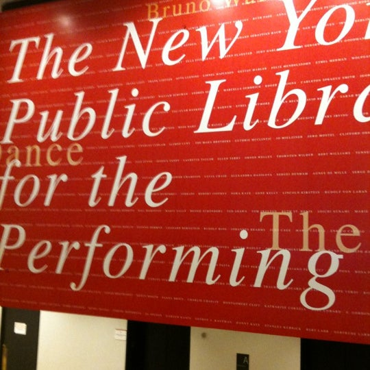 Photo taken at New York Public Library for the Performing Arts (LPA) by Ray on 2/12/2012
