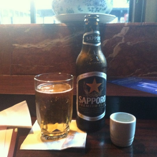 Photo taken at Mt. Fuji Japanese Steak House by Crystal M. on 7/1/2012