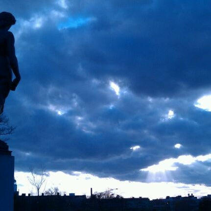 Photo taken at Statue of David by Jim C. on 4/8/2012
