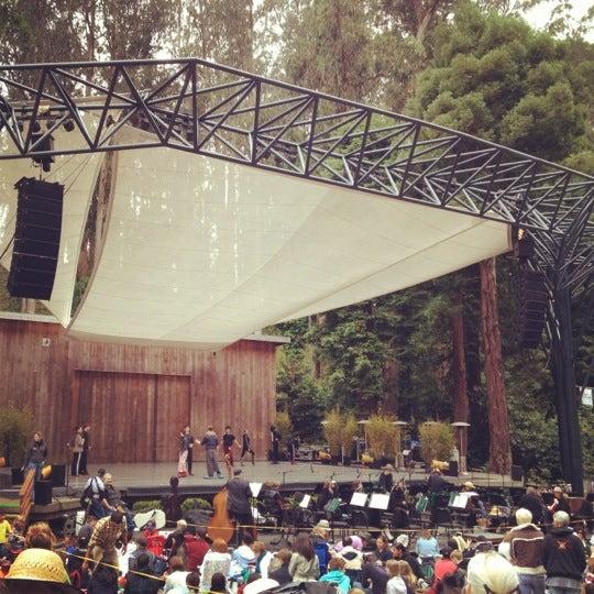 Photo taken at Sigmund Stern Grove by Anna D. on 7/29/2012