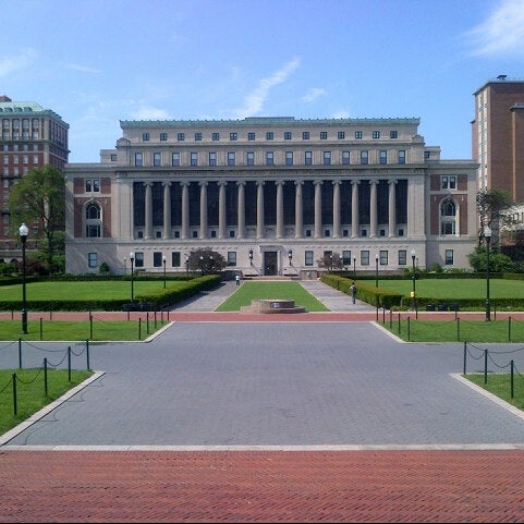 Photo taken at Butler Library by Giles P. on 7/4/2012