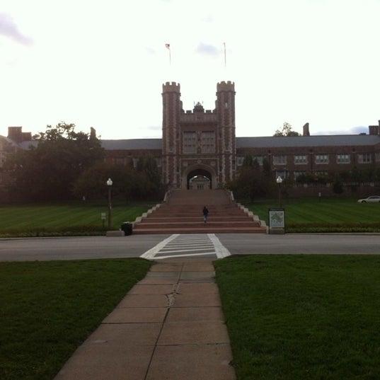 Photo taken at Washington University by Fernando on 3/7/2012