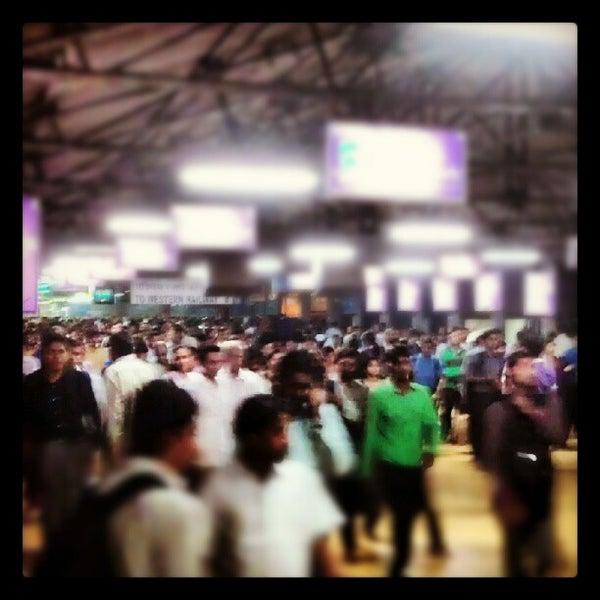 Photo taken at Dadar Railway Station by gaurav s. on 6/8/2012