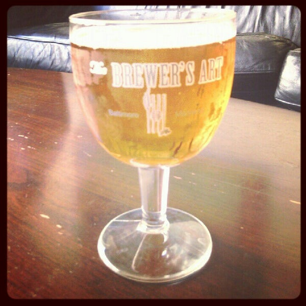 Photo taken at The Brewer's Art by Brent H. on 8/18/2012