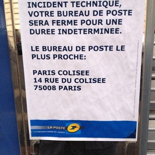Photos At La Poste Champs Elysees 24 Rue De La Tremoille