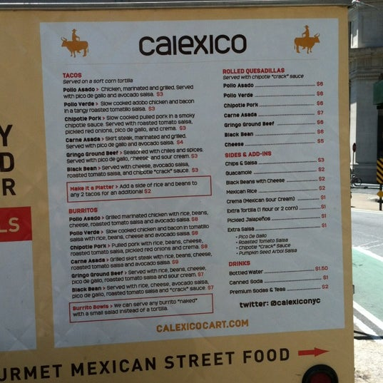 Photo taken at Calexico Cart by Yiannis on 6/15/2012