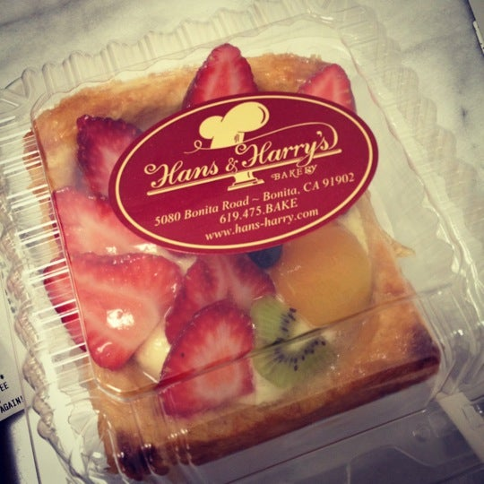 Hans and harry bakery bonita ca