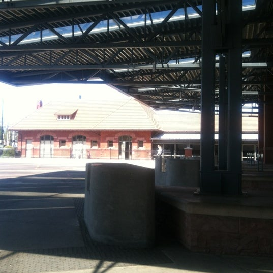 Photo taken at Kalamazoo Transportation Center - Amtrak (KAL) by Kaitlin M. on 4/9/2012