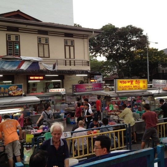 Photo taken at New Lane Hawker Stalls by Louie T. on 3/20/2012