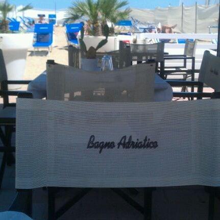Foto scattata a Bagno Adriatico 62 da Fabiola G. il 5/5/2012