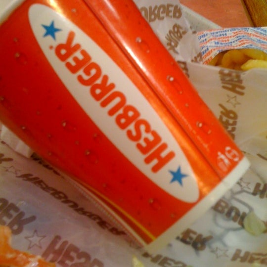 Photo taken at Hesburger by Kārlis P. on 3/20/2012