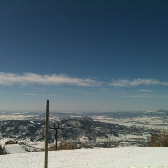 Photo taken at Steamboat Resort by Ben A. on 3/11/2012