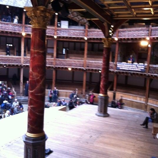 Photo taken at Shakespeare's Globe Theatre by Matt K. on 4/27/2012