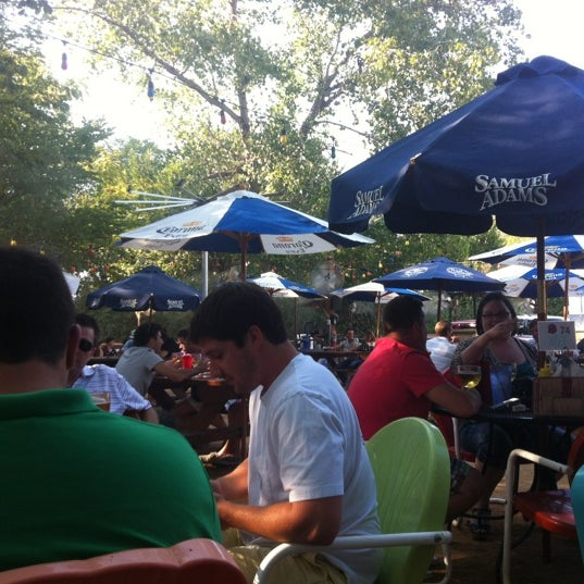 Photo taken at Katy Trail Ice House by Ed R. on 8/10/2012