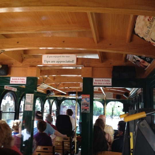 Photo taken at Old Town Trolley Tours of Boston by Denise S. on 5/31/2012