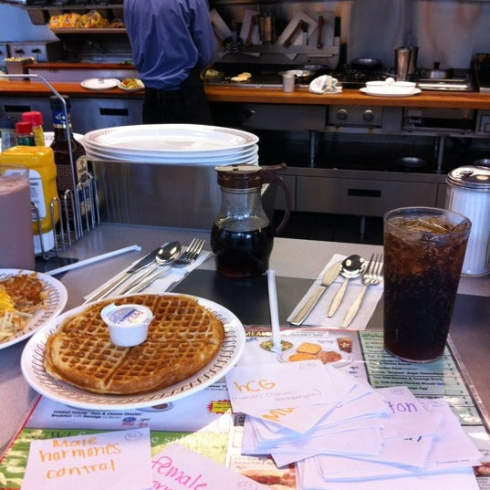 Photo taken at Waffle House by Thomas K. on 4/26/2012