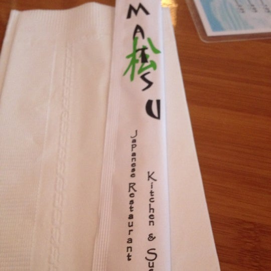 Photo taken at Matsu Japanese by Clarizza A. on 6/8/2012