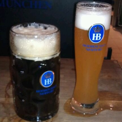 Photo taken at Hofbräuhaus Newport by Shannon S. on 2/18/2012