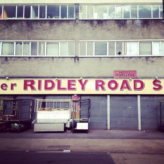 Photo taken at Ridley Road Market by Kev on 3/11/2012