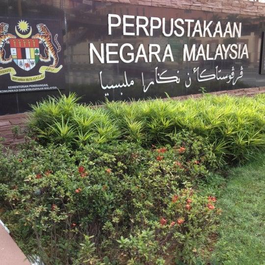 Photo taken at National Library (Perpustakaan Negara) by インタン Farhana A. on 9/2/2012