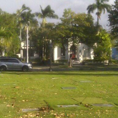 Photo taken at Manila Memorial Park by Eddie K. on 3/1/2012