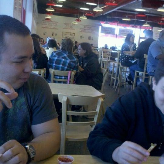 Photo taken at Five Guys by Blas G. on 2/20/2012