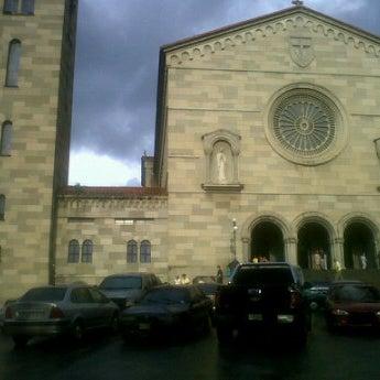Photo taken at Iglesia Nuestra Señora De La Chiquinquira by Yeleysa C. on 4/6/2012
