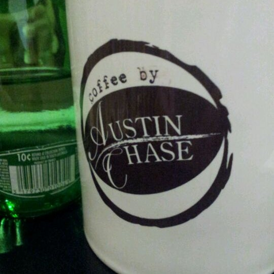 Photo taken at Austin Chase Coffee by Shen Mun Y. on 3/3/2012
