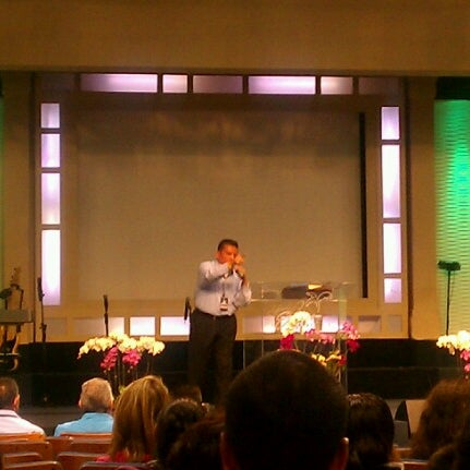 Photo taken at ELIM Central Los Angeles by Juan R. on 7/26/2012