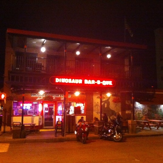 Photo taken at Dinosaur Bar-B-Que by Kelly S. on 6/14/2012