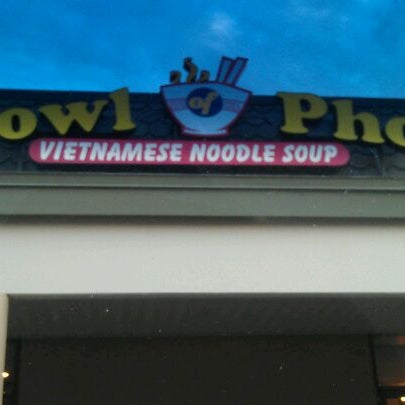 Photo taken at Bowl of Pho by rinux on 3/12/2012