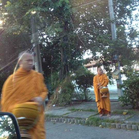 Photo taken at ลานใส่บาตร by Som O D. on 7/15/2012