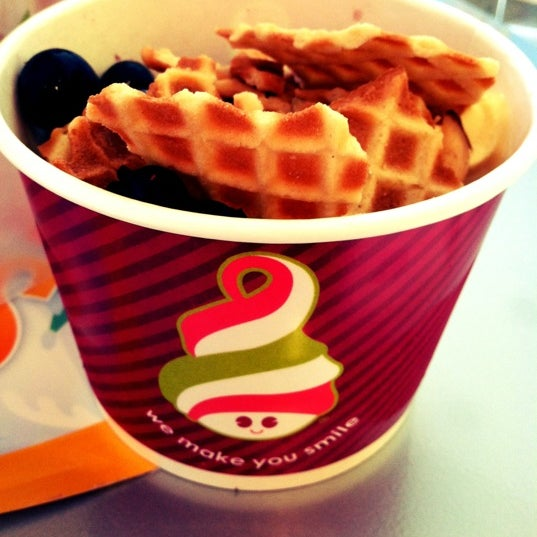 Photo taken at Menchies by Candy C. on 8/12/2012