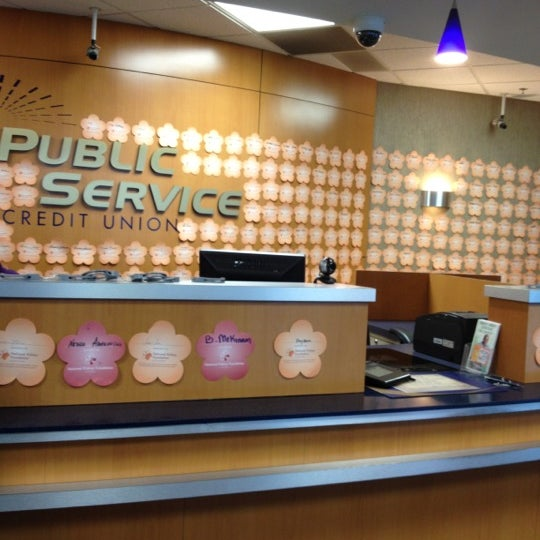 Photo taken at Public Service Credit Union by Vikki W. on 4/11/2012