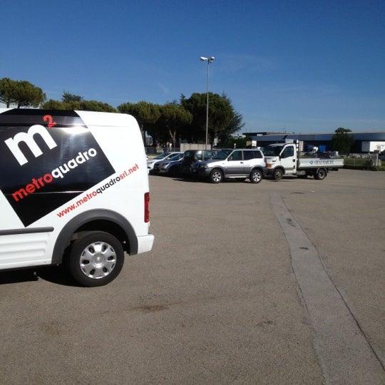 Photo taken at Parcheggio Via Sassonia by Namer M. on 5/8/2012