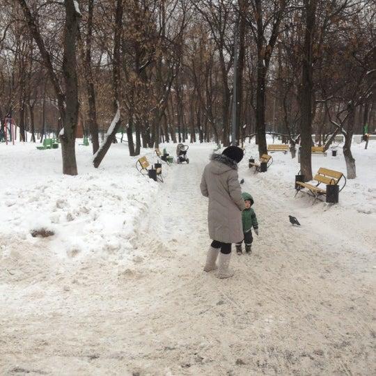 Снимок сделан в Щемиловский детский парк пользователем Kaise N. 2/23/2012
