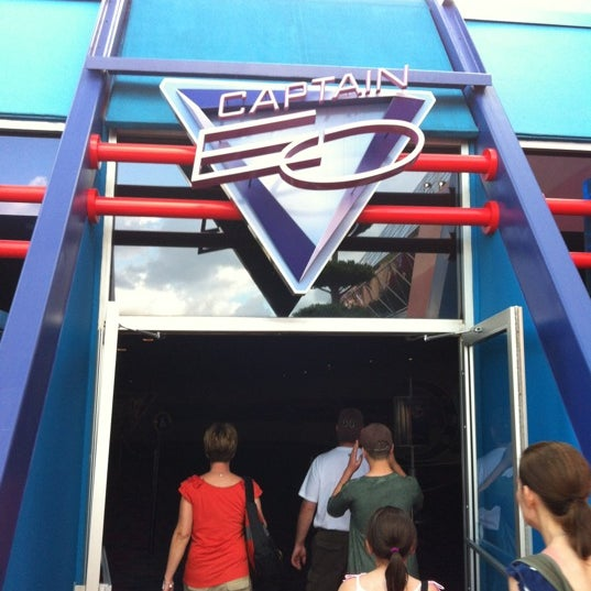 Photo taken at Captain EO by Tom S. on 4/30/2012