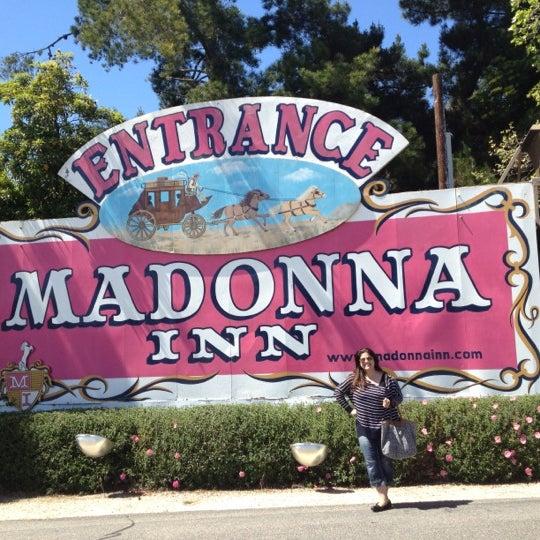 Photo taken at Madonna Inn by Wendy B. on 4/2/2012