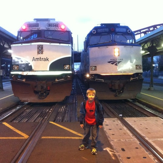 Photo taken at Union Station Amtrak (PDX) by Stephen F. on 2/24/2012