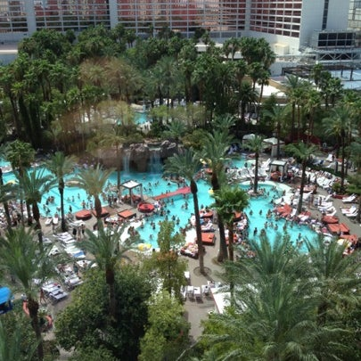 Photo taken at Flamingo GO Pool by Paul M. on 7/22/2012