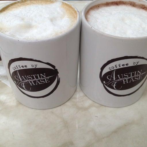 Photo taken at Austin Chase Coffee by Alysha S. on 4/28/2012