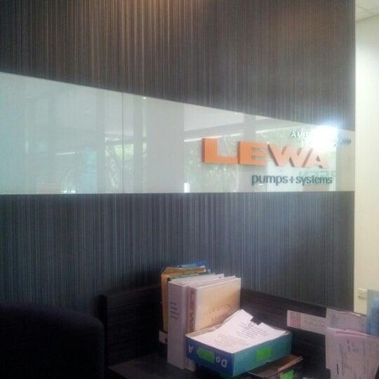 Photo taken at LEWA NIKKISO SINGAPORE PTE LTD by Amos on 8/15/2012