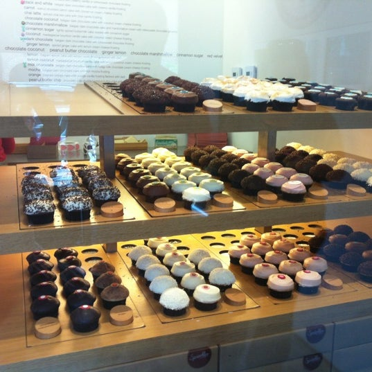 Photo taken at Sprinkles Cupcakes by Michelle T. on 4/14/2012