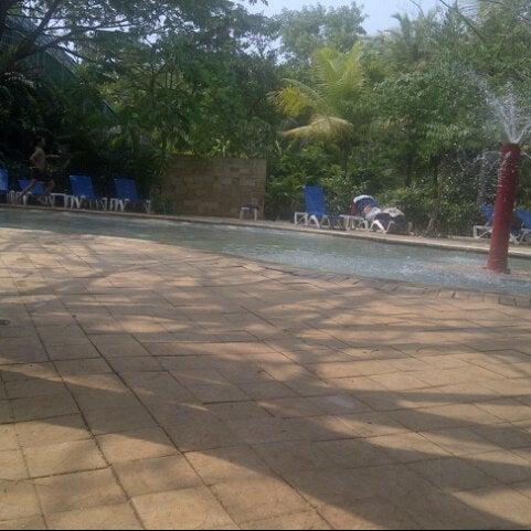 Photo taken at Waterbom Jakarta by noviana N. on 9/9/2012